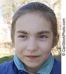 Smiling girl I