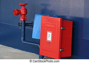 Ship Fire Plug - Fire plug on cruise ship