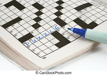 crossword puzzle - word puzzle