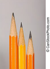 Not Quite The Same - Three pencils with one different