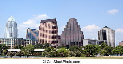 Downtown Austin, Texas - A very pretty day in Austin, Texas....