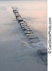 Sea - Stones in the sea.