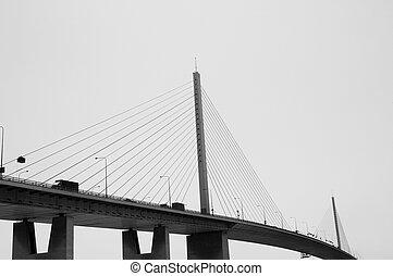 懸挂, 橋梁