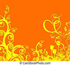 Floral Background - an elegant floral background