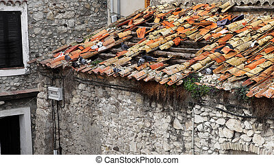 Antibes 97 - A stone building in Antibes, France