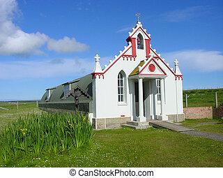 italian chapel - The Italian Chapel, Orkney A POW hut...