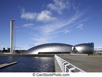 tecknik scot - The Glasgow Tower, Glasgow Science Centre and...
