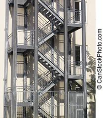 Escape stairs - Fire escape