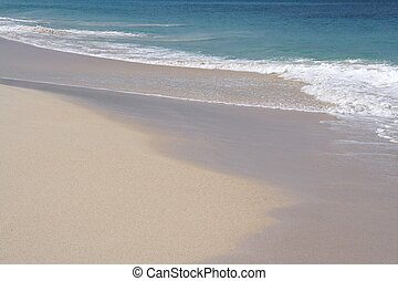 White Sands - Beautiful caribbean beach with white sand