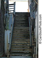 Staircase - Old staircase in Locke