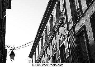 Aix-en-provence #89 - A building in Aix-en-provence, France....