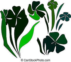 Green Shamrocks
