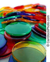 Colourfull Counters - colourfull plastic counters