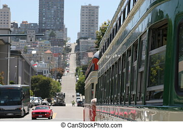 Streets of San Francisco 3 - Street scenes of San Francisco