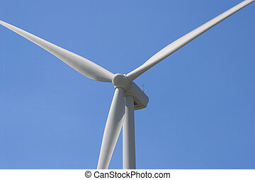 turbine - windmill with blue sky