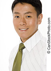 Portratit of Young Businessman - A young asian businessman...