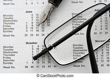 business calendar 2006