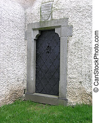 Mystic Door - A mystic door in a castle