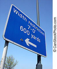 Sign 3 - This is a sign down a road in South Woodford