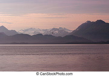 Alaskan Dawn - Dawn over Kachemak Bay, the most nutrient...