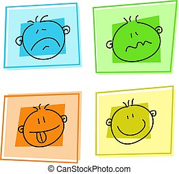 smilie icons - selection of emoticons