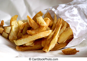 Chips - Glorious freshly fried chip packet
