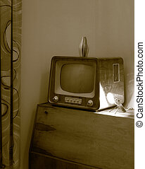 Vintage TV - Television design from the 50-ties