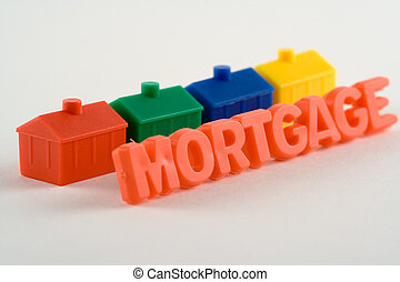 Mortgage - Metaphor for a housing loan