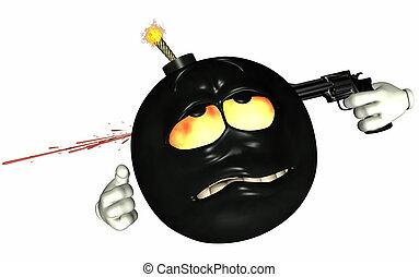 自殺, Bomb[er]