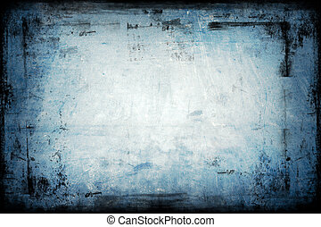 Textured Grunge Background with border / frame