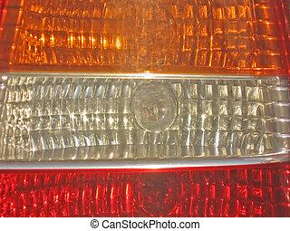 car lights - car light - three colors