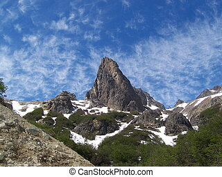 Peak - Mountain peak in Patagonia Argentina