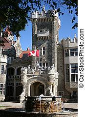 canadian castle - Casa Loma in Toronto, Ontario, Canada