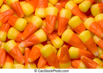 Candy Corn - A sumptuous pile of Candy Corn, the king of...