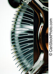 CPU heat sink fin - heat sink fin of a cpu