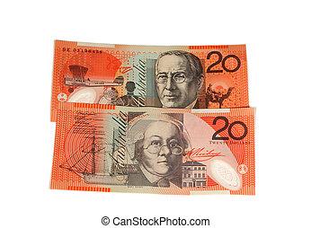 $20 notes - Australian $20 notes