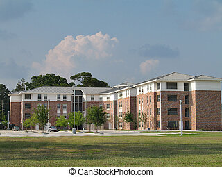 College Dormitory - student housing residence hall