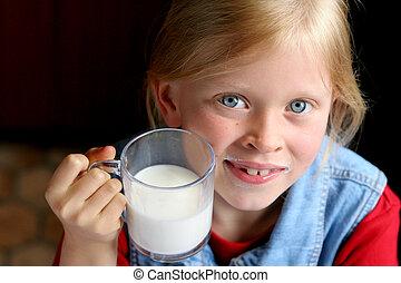 Drink milk!