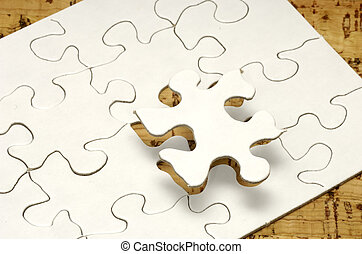 Puzzle - Photo of a Puzzle