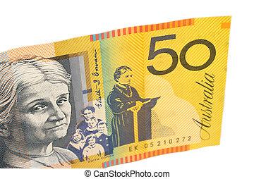 $50 bill - Australian $50 note