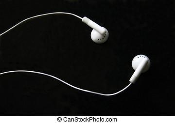 Ipod, audífono