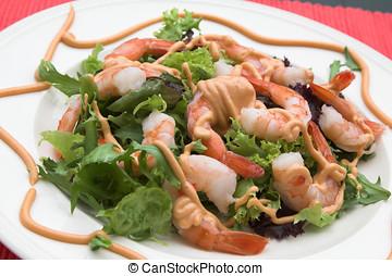 Shrimp salad - Delicious shrimp salad