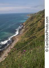 Coastal california - Area of the coast of California from...