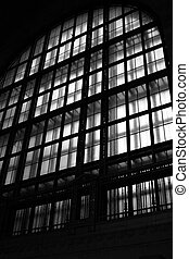 Window Shadows - a window kind of at Union Station in...