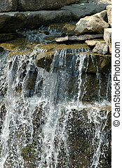 Calmness - Picture of a waterfall taken in Kansas City, KS