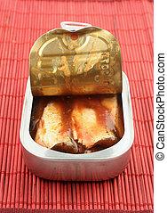 罐裝, 沙丁魚