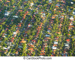 Aerial Photography - The Suburb