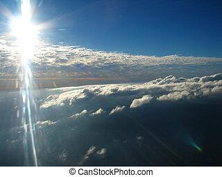 foto, aéreo