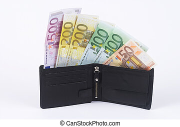 wallet - banknotes with wallet
