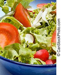 Mixed salad - Triple color mixed salad